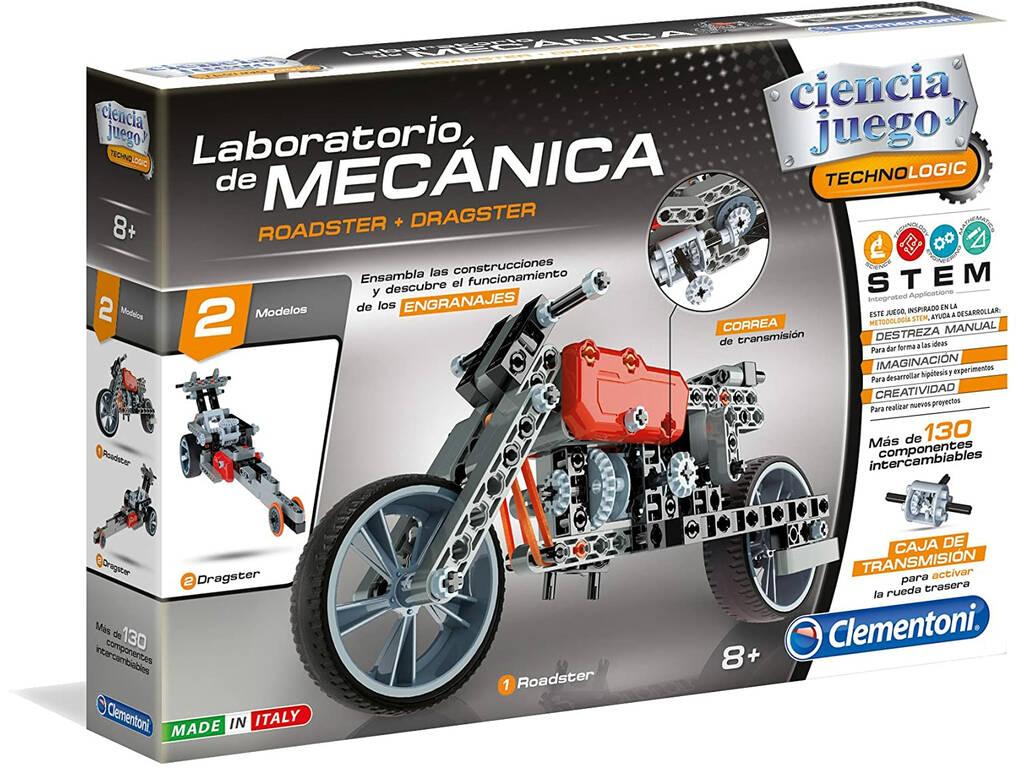 Laboratorio de Mecánica Roadster y Dragster Clementoni 55157