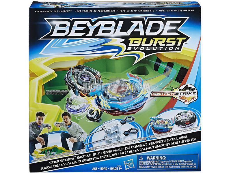 Beyblade Estadio de Competición Burst Evolution Hasbro E0722