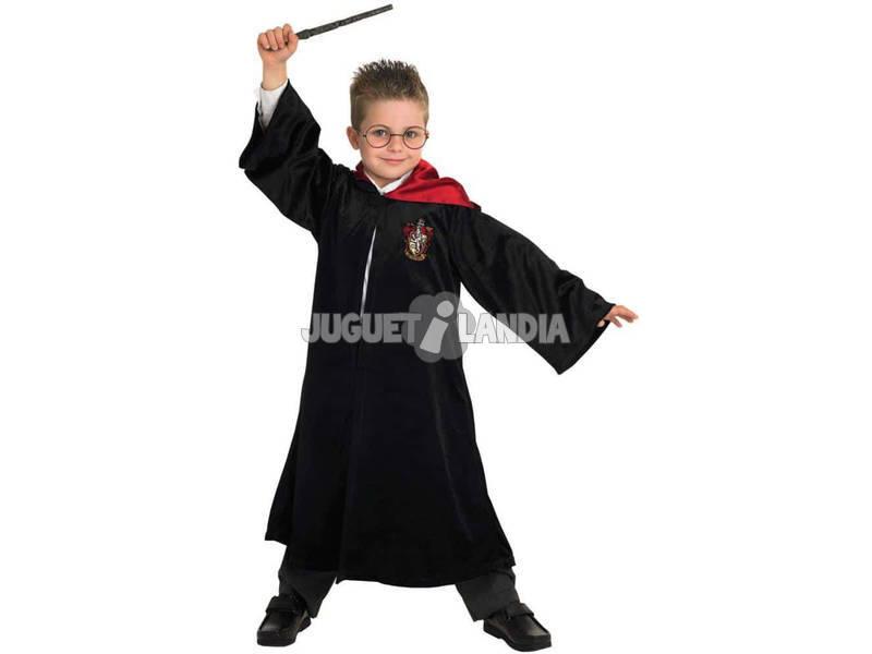 Disfarce de Menino Harry Potter Deluxe Gryffindor Tamanho S Rubies 883574-S