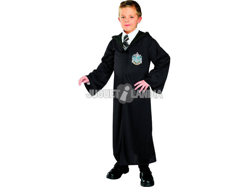 Disfraz Niño Harry Potter Túnica Slytherin Talla S Rubies 884254-S