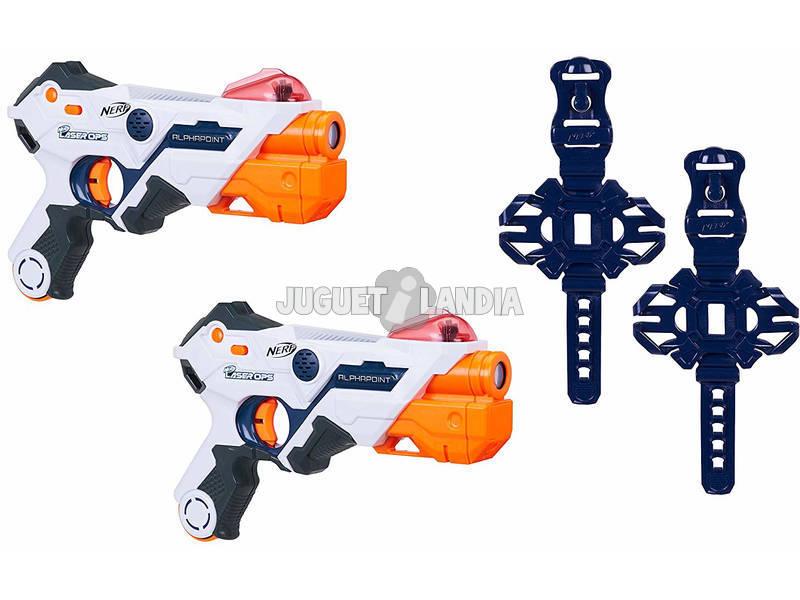 Nerf Laser Ops Pro Pack de 2 Lanzadores