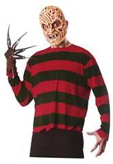 Freddy Krueger Kit para Adultos Rubies 17059