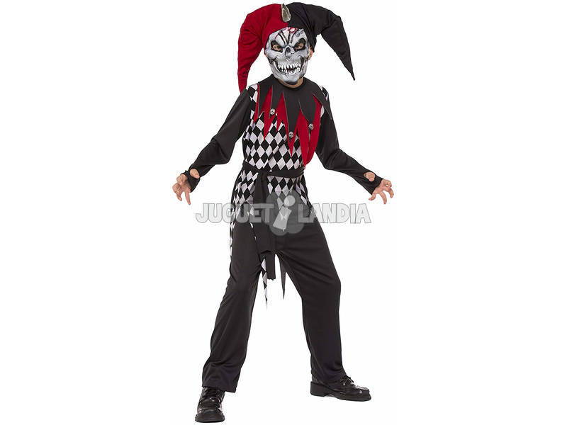 Disfraz Niño Bufón Malvado Talla L Rubies 630925-L