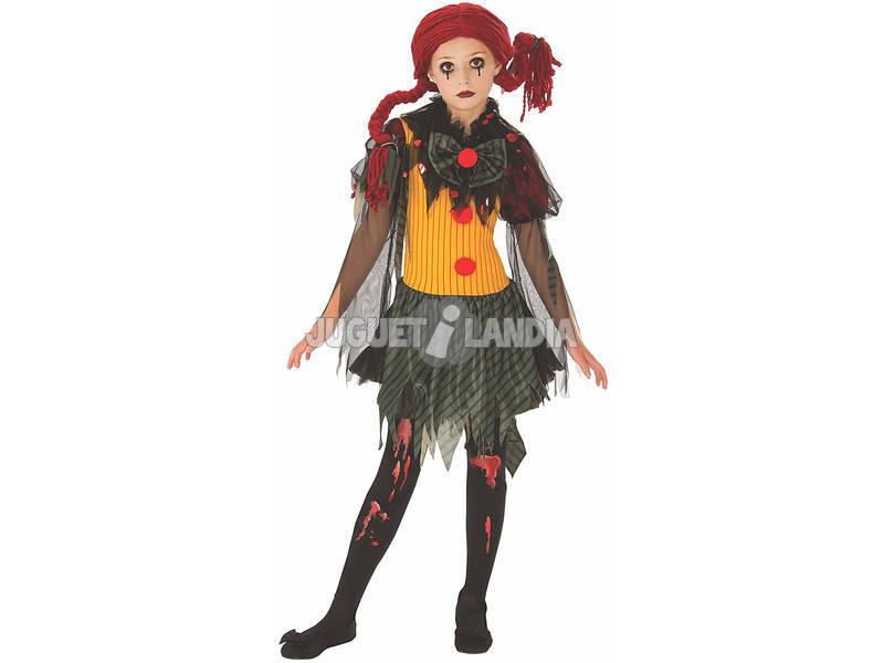 Disfraz Niña Zombie Clown Talla L Rubies 641127-L