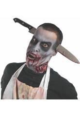 Diadema con Cuchillo Zombie Rubies 3727