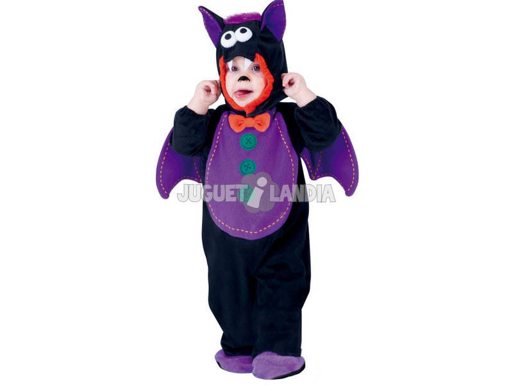 Disfarce de Bebê Baby Bat Tamanho I Rubies S8504-I