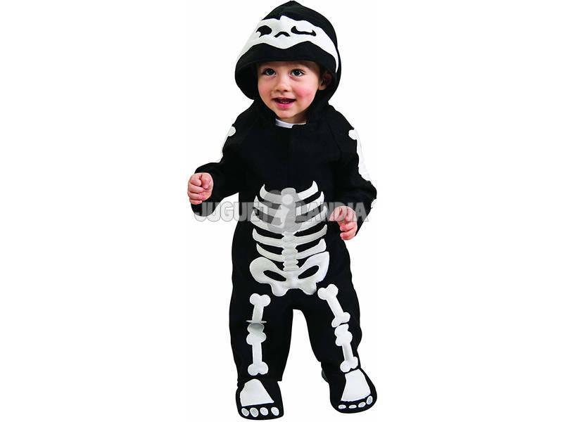 Disfraz Skeleton Boy Bebê Tamanho I Rubies 885990-I