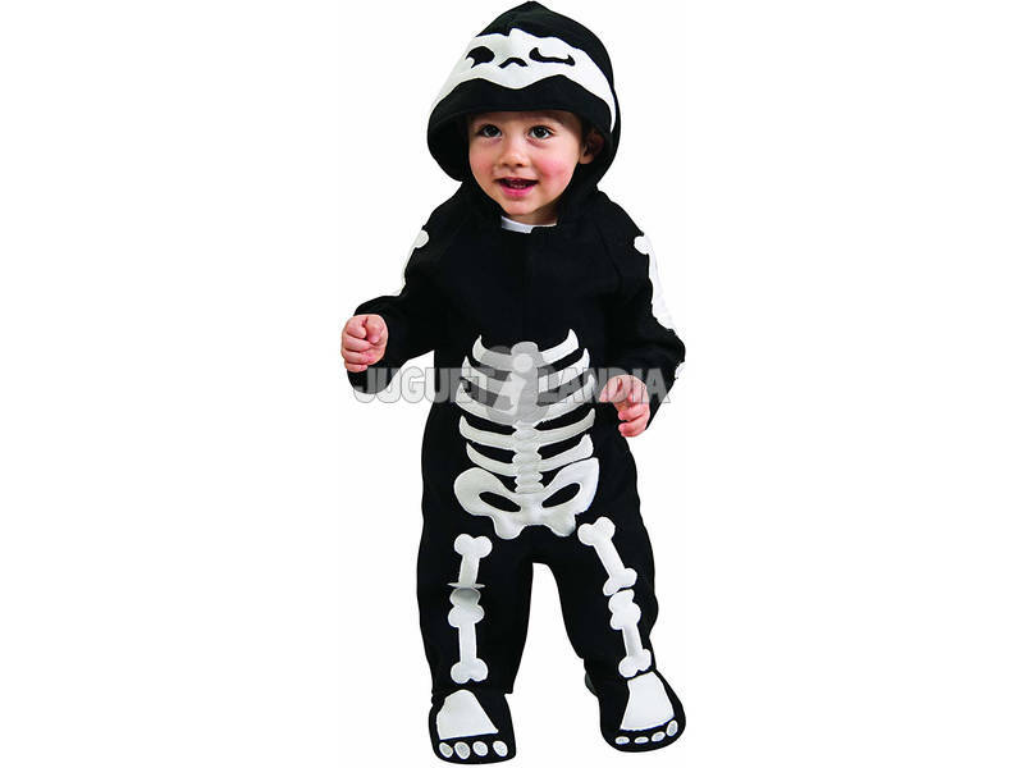 Disfarce Skeleton Boy Bebê Tamanho T Rubies 885990-T