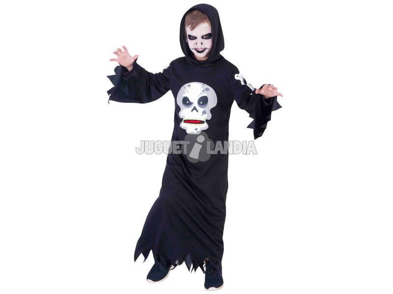 Disfarce de criança Skull Ganancioso Tamanho M Rubies S8385-M