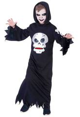 Costume Bimbo Skull Affamato L Rubies S8385-L