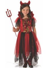 Disfraz Niña Diablesa Mágica Talla S Rubies 641102-S