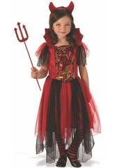 Dèguisment petite fille Diablese Magic Taille L Rubies 641102-L
