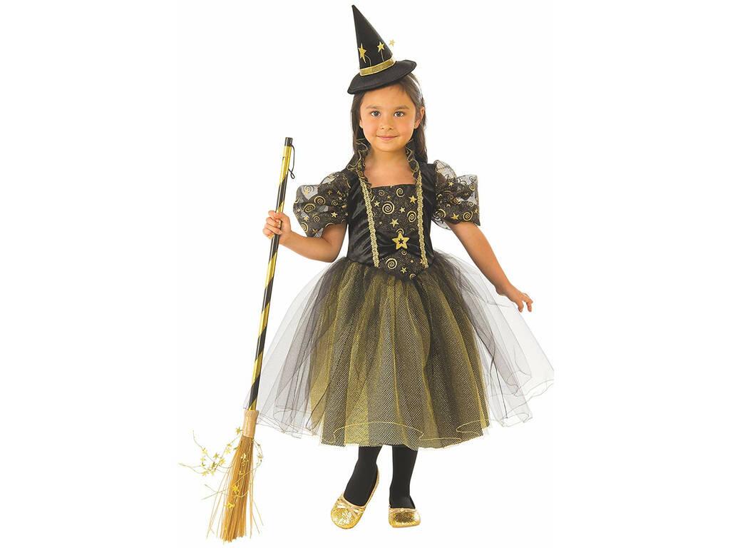 Disfraz Niña Bruja Estrellitas Talla S Rubies 641093-S