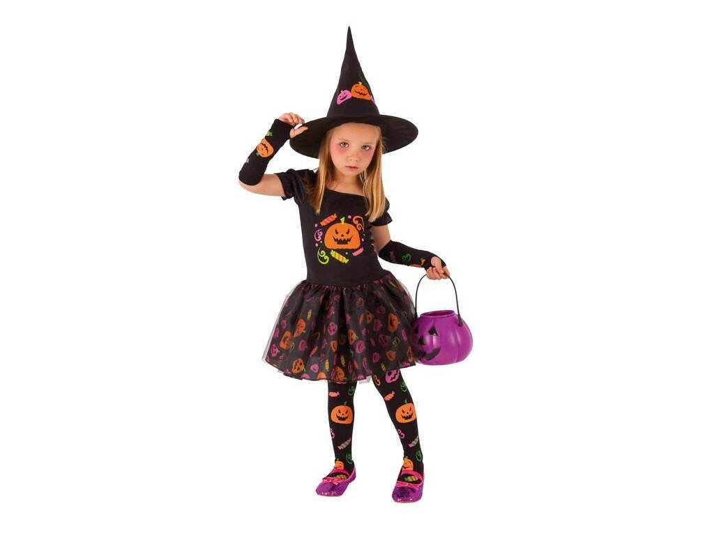 Disfraz Niña Bruja Candy Talla S Rubies S8349-S