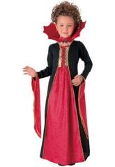 Disfraz Niña Vampiresa Gótica Roja Talla M Rubies 881029-M