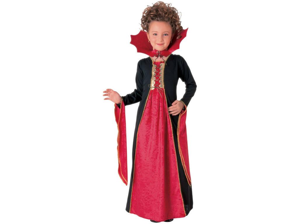 Disfraz Niña Vampiresa Gótica Roja Talla L Rubies 881029-L