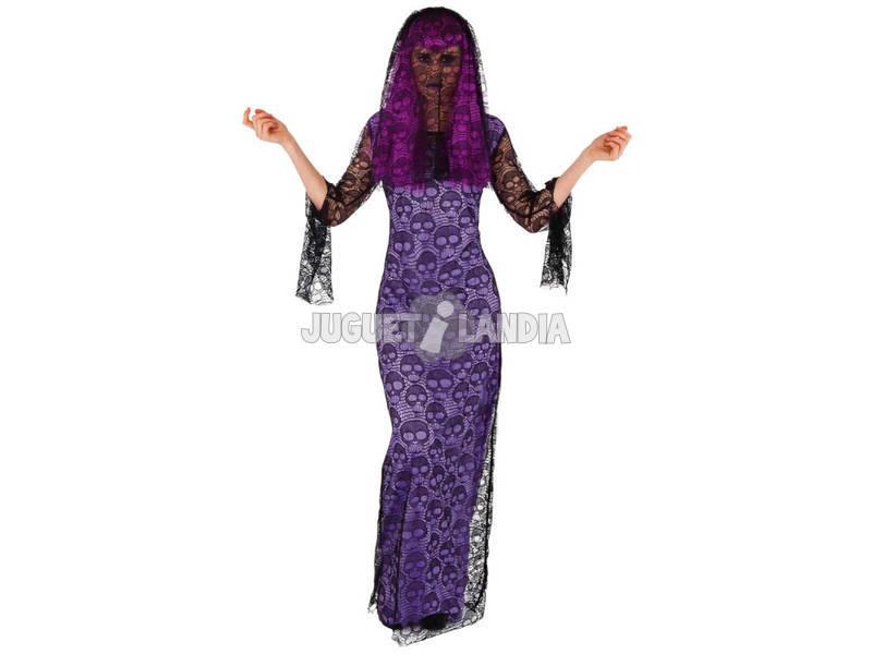 Disfraz Mujer Viuda Skull Talla Única Rubies S8522