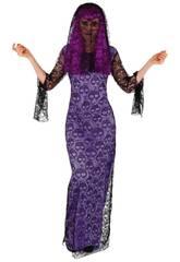 Costume Donna Vedova Skull taglia Unica Rubies S8522