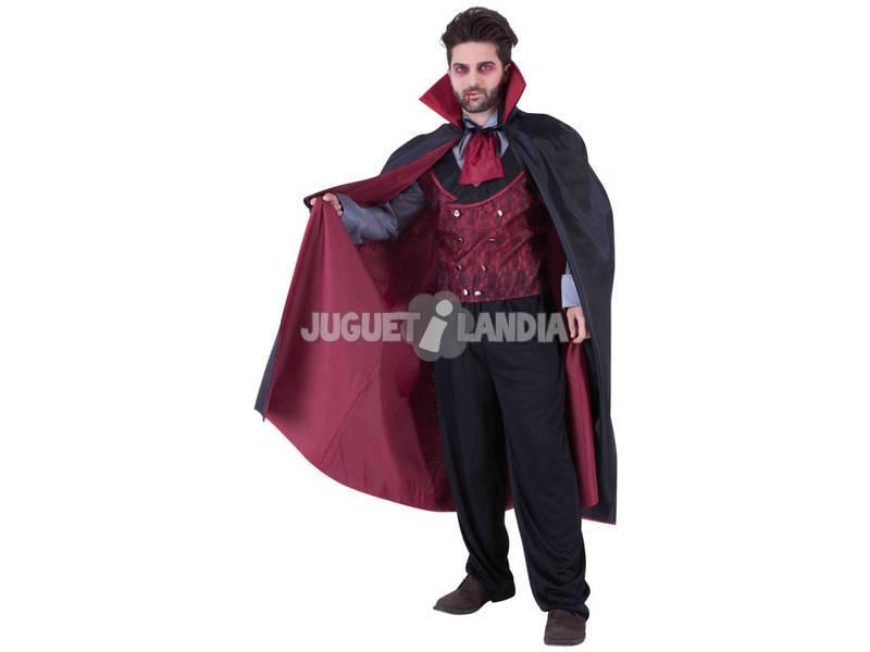 Disfarce de Homem Mr. Conde Dracula Tamanho Unico Rubies S8521