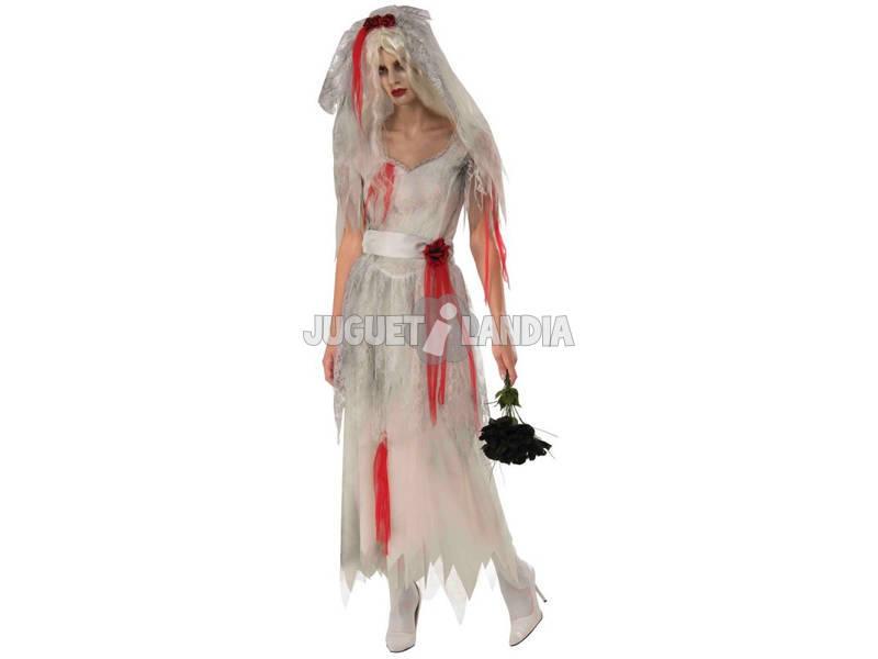 Disfarce de Mulher Noiva Fantasma Tamanho M Rubies 821021-M