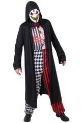 Costume Adulto Jokerman Spietato taglia unica Rubies S8303