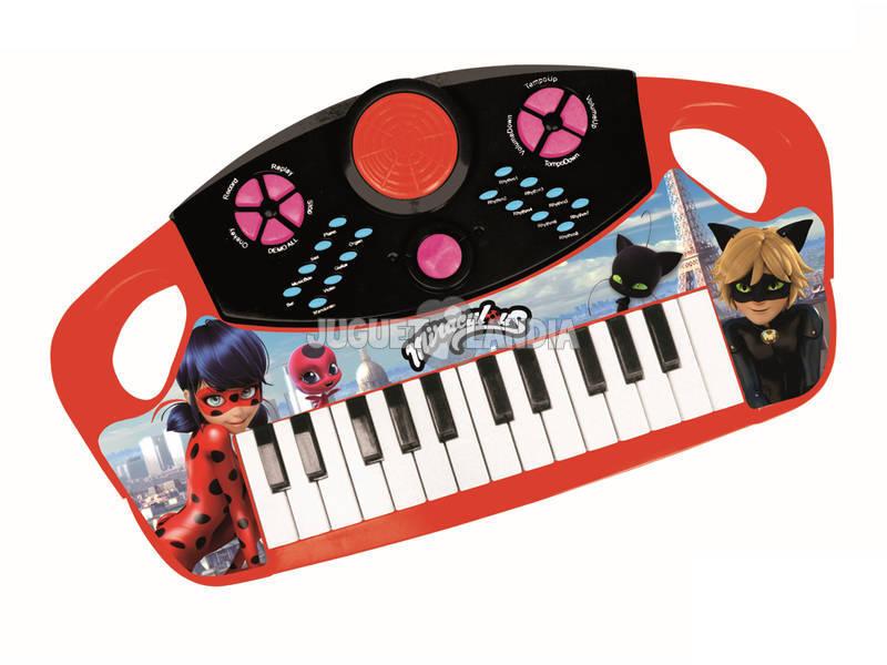 Pianola Elettrica 25 Tasti Ladybug Reig 2683