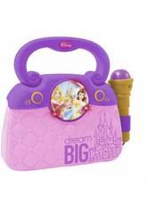 imagen Princesas Disney Bolso Con Micro Luces y Ritmos Reig 5293
