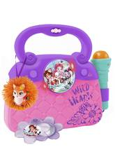 Enchantimals Bolso Con Micro, Luces, Ritmo y Conexión MP3 Reig 4459