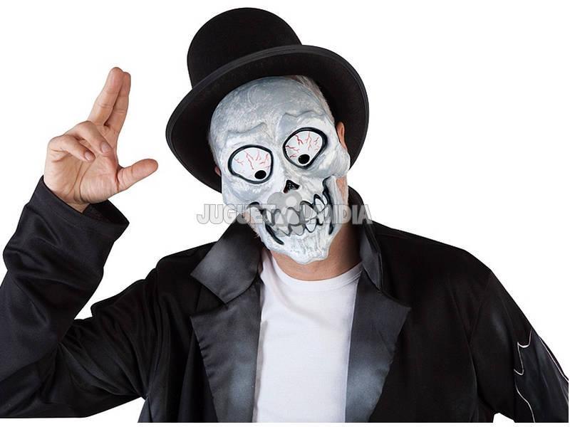 Máscara Adulto Esqueleto Loco Rubies S5149