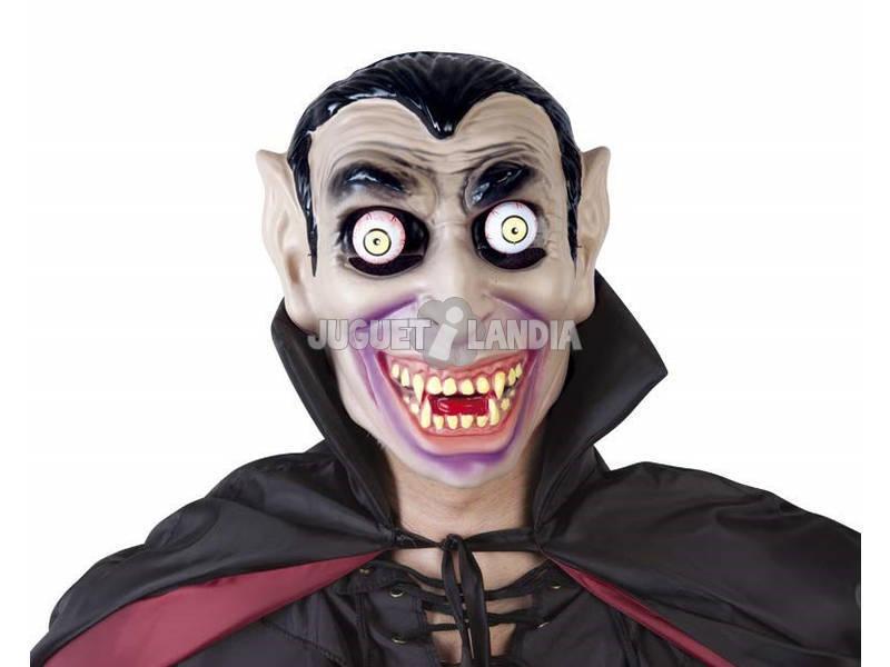 Máscara Drácula con Ojos Móviles Rubies S5146