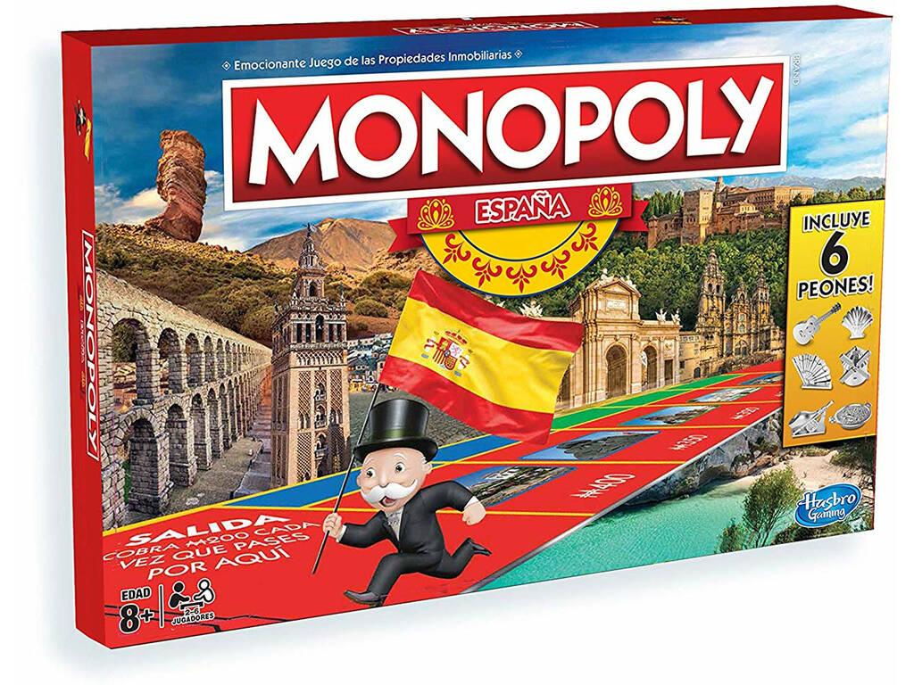 Monopoly Espana Hasbro E1654 Juguetilandia