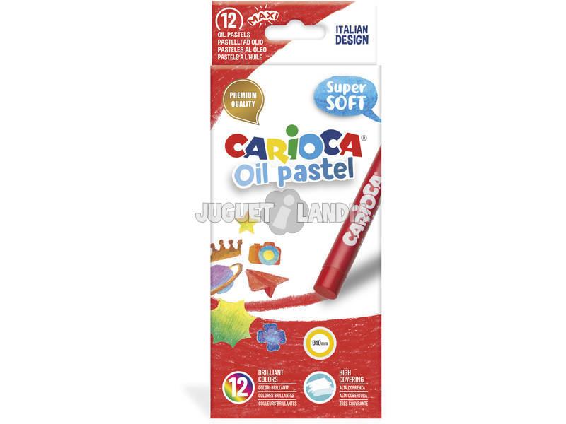 Oil Pastel 12 Unidades Carioca 43277