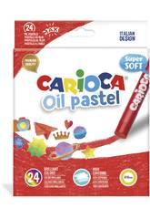 imagen Oil Pastel 24 Unidades Carioca 43278