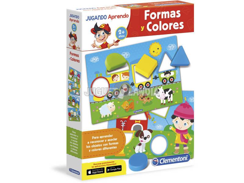 A brincar aprendo formas e cores Clementoni 65592