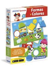 imagen Jugando Aprendo Formas y Colores Clementoni 65592
