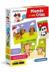 imagen Jugando Aprendo Mamás y sus Crías Clementoni 65593