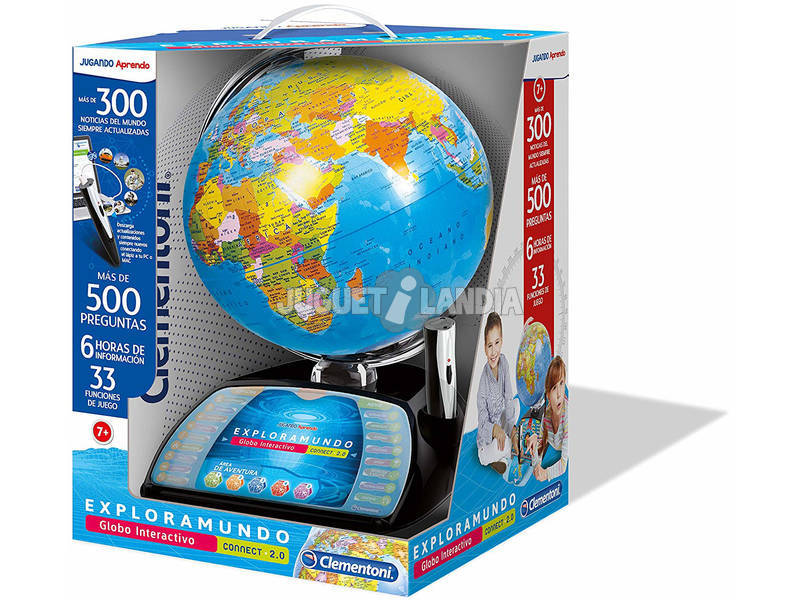Explora O Mundo Globo Interativo Premium Clementoni 55247