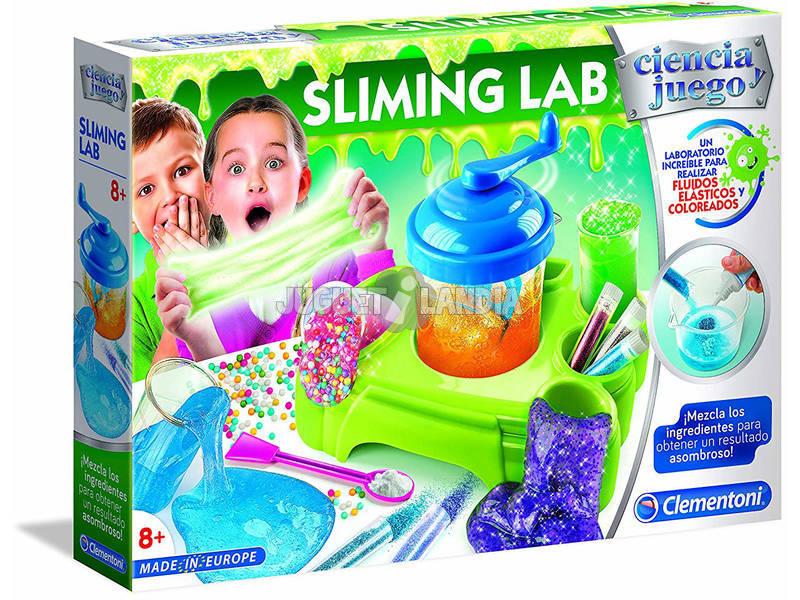 Sliming Lab Cria a tua baba da Clementoni 55275
