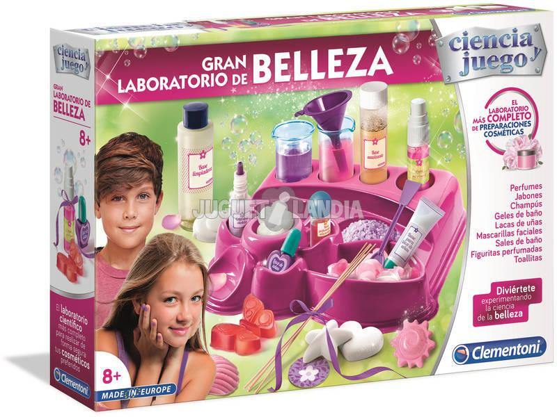 O Grande Laboratório de Beleza Clementoni 55237