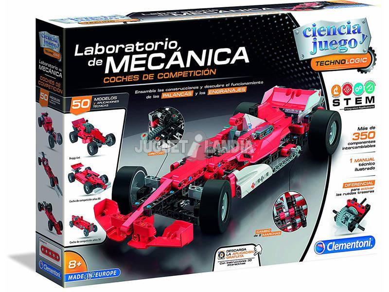 Laboratório De Mecânica Carros de Corrida Clementoni 55215