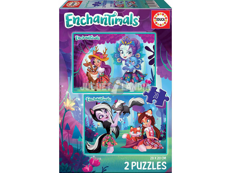 Puzzle 2x20 Enchantimals Educa 17932