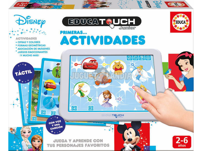 Educa Touch Junior Disney Prime Attività Educa 17919