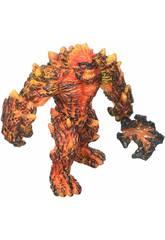 Eldrador Creatures Golem de Lave avec Arme Schleich 42447
