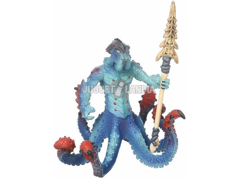 Eldrador Creatures Polvo Monstruoso de Água com Arma Schleich 42449