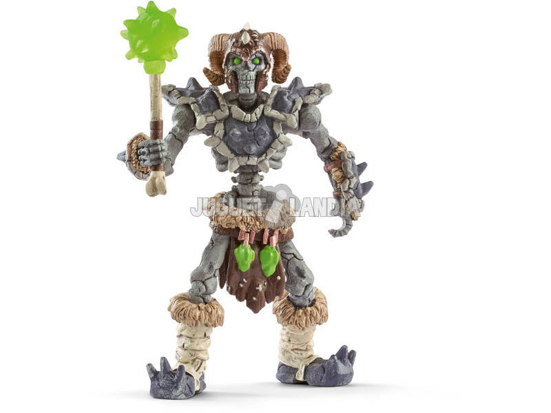Eldrador Esqueleto de Piedra con Arma Schleich 42450