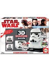 Star Wars Stormtrooper 3D Sculpture Puzzle Educa 17803