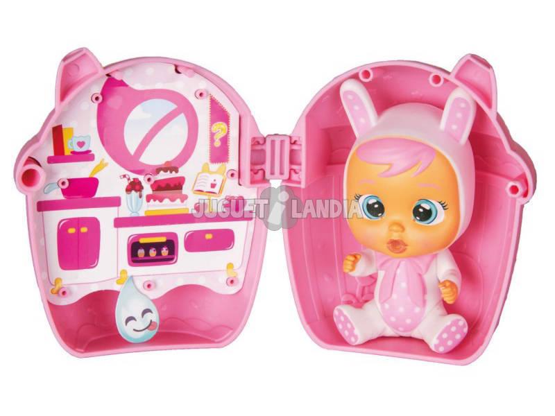 Bebé Chorão Lágrimas Mágicas Casinha Bibe IMC Toys 98442
