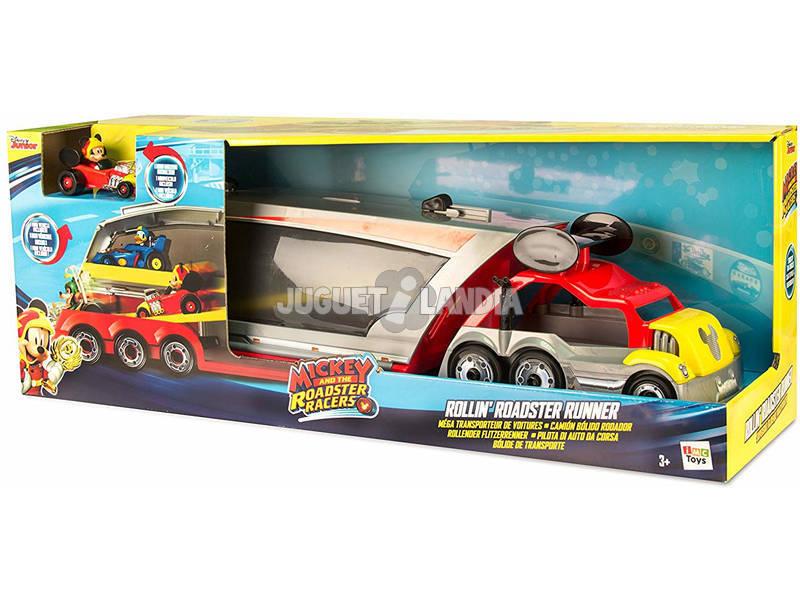 Mickey Camión Bólido Rodador Imc Toys 183858