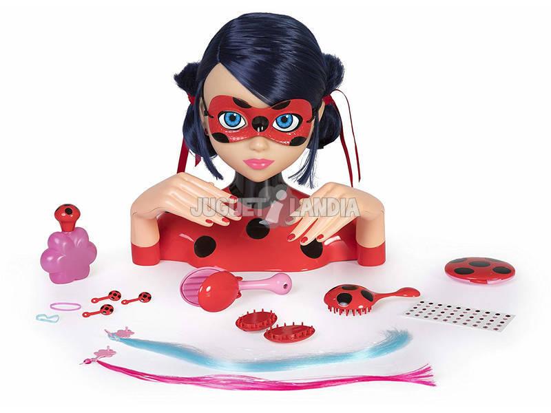 Ladybug Busto Peinable Deluxe IMC Toys 442054