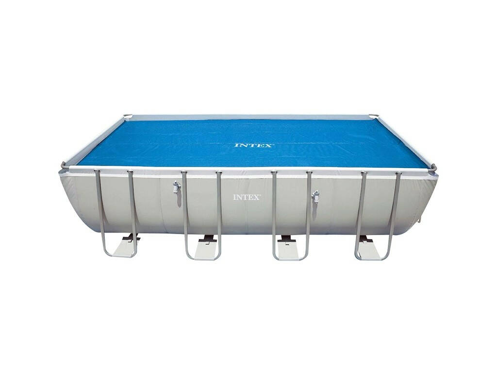 Coberta solar Para Piscinas Frame 960x466 cm. Intex 29030